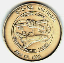 N093        NASA  SPACE  SHUTTLE  COIN /  MEDAL,  COLUMBIA,   STS-93