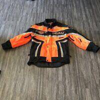 FXR Racing Frostfire Jacket XXS Orange/Black/Silver Snowmobile
