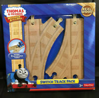 THOMAS & FRIENDS Wooden Railway Switch Track Pack / New