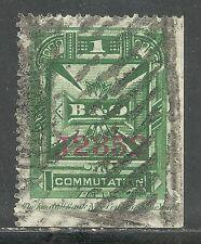 us revenue telegraph stamp scott 3t7 - Baltimore & Ohio Co. - 1 cent issue - #2