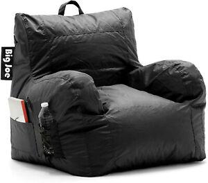 Big Joe Dorm Smartmax Bean Bag Chair, Stretch Limo Black