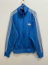 Adidas Originals ADI-Firebird Track Top Jacket Blue White Size L **With Stains**