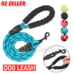 Nylon Training Dog Leash Heavy Duty Pet Products Strong Rope Recall Lead Leashes