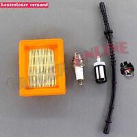 Luftfilter für Stihl FS120 FS200 FS250 FS300 FS350 FS400 + Benzinschlauch Filter