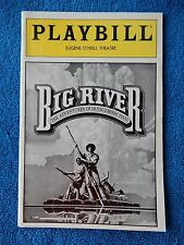 Big River - Eugene O'Neill Theatre Playbill - August 1987 - Gary Holcombe