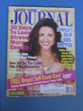 JULIA LOUIS-DREYFUSS  Ladies Home JOURNAL Magazine