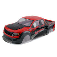 RC AUSTAR AX032 Red Plastic Body Shell For HPI 1/10th Monster Truck & HSP 94188
