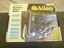 Allen Grand River Rubber Chest Wader Waders Barefoot 11817 Size 7