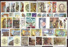 1993 ITALIA ANNATA COMMEMORATIVI ESCLUSO EMISSIONI IN FOGLIETTI/LIBRETTI MNH**