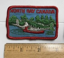 North Bay Ontario Canada Fishing Fish Canadian Embroidered Souvenir Patch