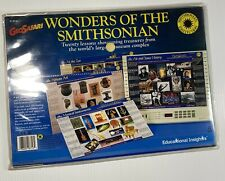 GeoSafari Wonders of the Smithsonian EI-8716 10 Cards 20 Lessons Ages 8 & Up