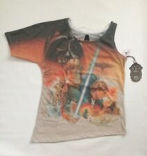 BNWT Disney Parks Star Wars Ladies Women's Shirt Top Size Small Luke Skywalker