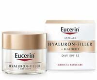 Eucerin Hyaluron Filler + Elasticity day creme SPF15 50ml