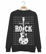 Batch1 Jingle Bell Rock Weihnachten Gitarre Plektrum Herren Sweatshirt Pulli