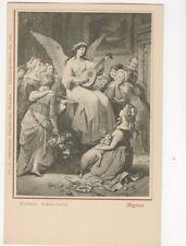 Mignon Kaulbach Goethe Galerie Vintage U/B Postcard Germany 069b