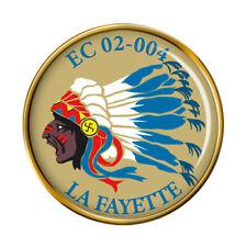 """Escadron de Chasse 02-004 """" la Fayette """" (Français Air Force) Broche Badge"""