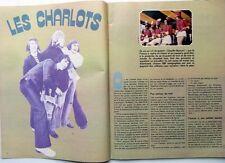 Mag rare 1972: LES CHARLOTS_BRUNO PRADAL_CLAUDE SPANGHERO (Rugby)