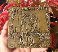 Coptic art, Faras, St Anna, archaeology, bronze, 145mm, Maria, Jesus, Stasinski