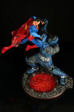 Superman vs Darkseid Superhero Figure Model Resin Kit Unpainted Unassembled 1/8