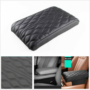 Wave Pattern Car Armrest Pad Cover Universal Center Console Protection Cushion