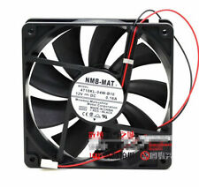 1pcs  NMB 4710KL-04W-B10 12025 12CM 0.16A mute chassis double ball fan 2pin