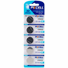 PKCELL 5-Pack CR2032 Lithium Battery