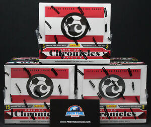 2019-20 Panini Chronicles Soccer Tmall Chinese Exclusive 3 box Lot 4 Available