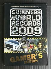Guiness World Records 2009 Gamer's Edition Paperback Excellent Condition -OG