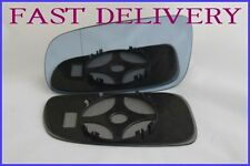 VW GOLF MK4 GTI 1997-2006 BLIND SPOT BLUE TINTED WING MIRROR GLASS LEFT SIDE