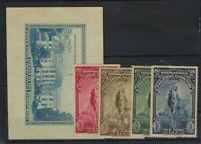 1936 EXPO SEALS AND SOUVENIR SHEET
