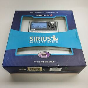 Sirius Sportster SP4-TK1R For Sirius Car Satellite Radio Receiver - New