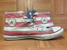 RARE🔥 Converse Chuck Taylor All Star USA Flag Hi Vintage Stars Bars Sz 11.5