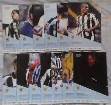 Away Teams L-N Notts County League Two Football Programmes