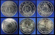 IRLAND - 2 Euros Gedenkmünzen 2007 / 2019  -  ALLE JAHRE VERFÜGBAR - UNC