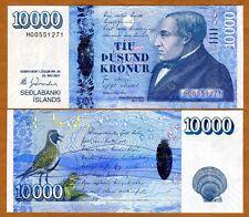 Iceland, 10000 (10,000) Kronur, 2001 (2013), P-61, Hybrid Polymer, UNC