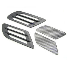 Vent Car Hole Cover Fender Side Air Flow Intake Grille Duct Decoration Sticker B