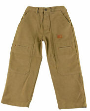 JACADI Boy's Aloi Camel Long Cotton Pants Sz: 2 Years NWT $48