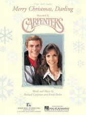 Merry Christmas Darling Sheet Music Piano Vocal Carpenters NEW 000352281
