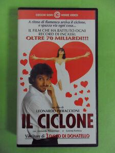 IL CICLONE. VHS LEONARDO PIERACCIONI / FORTEZA LORENA - FILM PER TUTTI
