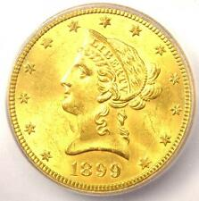 New listing 1899-S Liberty Gold Eagle ($10 Coin) - Icg Ms64 - Rare in Ms64 - $5,030 Value!
