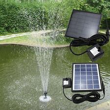 Solar-Springbrunnenpumpe Wasserpumpe Teichpumpe Solarteichpumpe Gartenpumpe ES