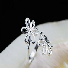 925 Solid Sterling Silver Plated Women/Men NEW Fashion Ring Gift SIZE OPEN HJ194