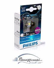 LAMPADINE AUTO TARGA INTERNO PHILIPS LED 6000K 12V Daylight Effect 129416000KX1