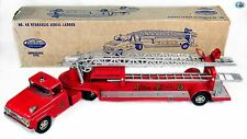 Awesome Vintage 1950s Large Tonka Fire Engine Toy Truck TFD Hydraulic No. 5 with
