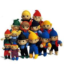 elf family toy knitting pattern
