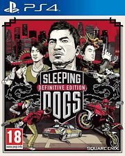 Sleeping Dogs Definitive Edition PS4 NEW SEALED DISPATCHING TODAY ORDERS BY 2 PM