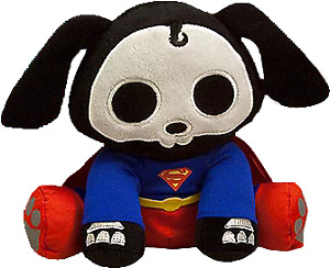 "Skelanimals - Superman Dax 6"" Mini Plush-TOY2222"