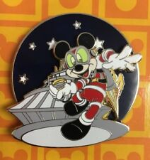 Disney Mickey Mouse Adventure Space Mountain Pin - LE 1800 Spinner