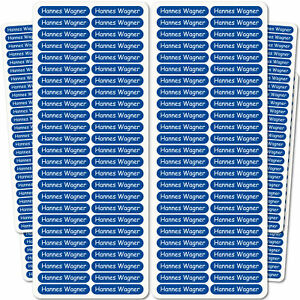 150 Name stickers for children, books school supplies You Text Kids 36x7mm -0037