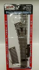 Atlas HO Code 83 Snap Switch Turnout LEFT Hand Manual Switch #542 Model Trains